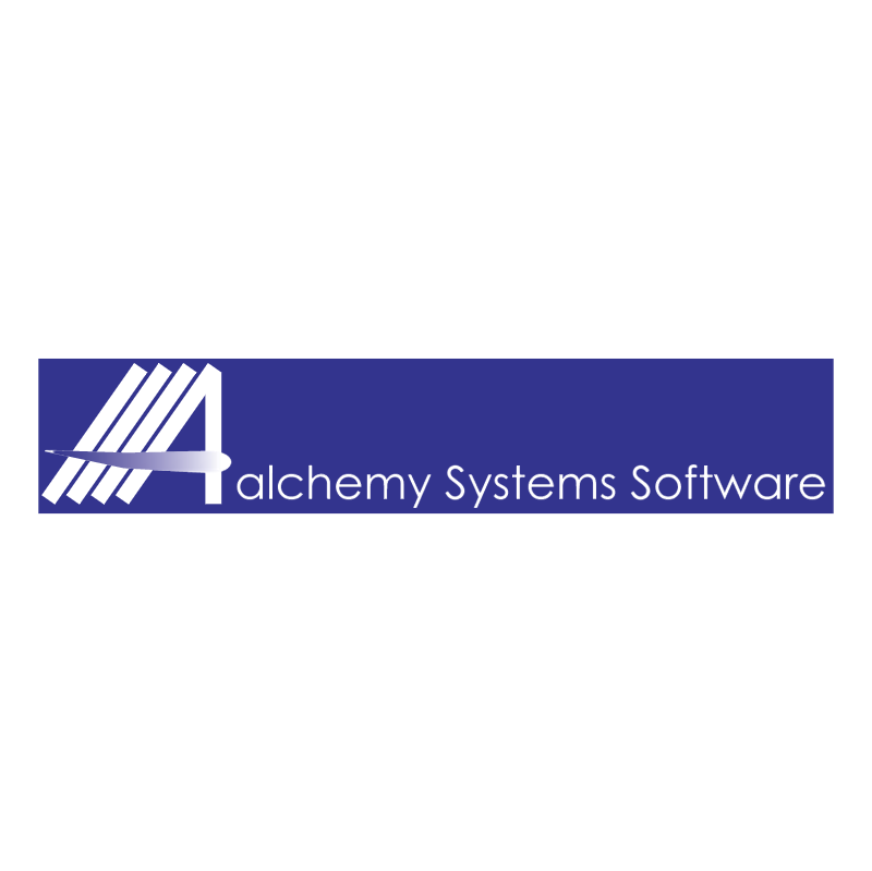 Alchemy Systems Software 82117 vector