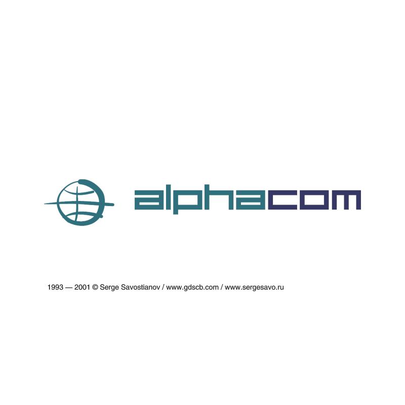 Alphacom vector