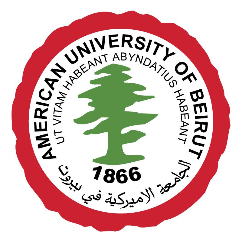 American University of Beirut vector