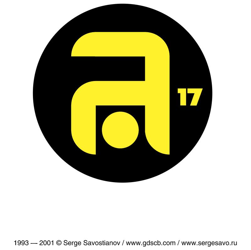 Angar 17 vector logo