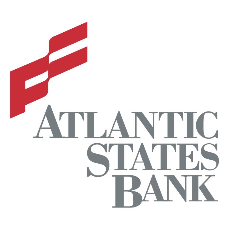 Atlantic States Bank vector