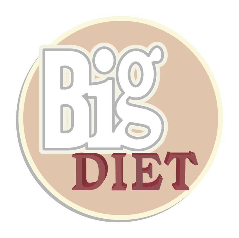 Big Diet vector
