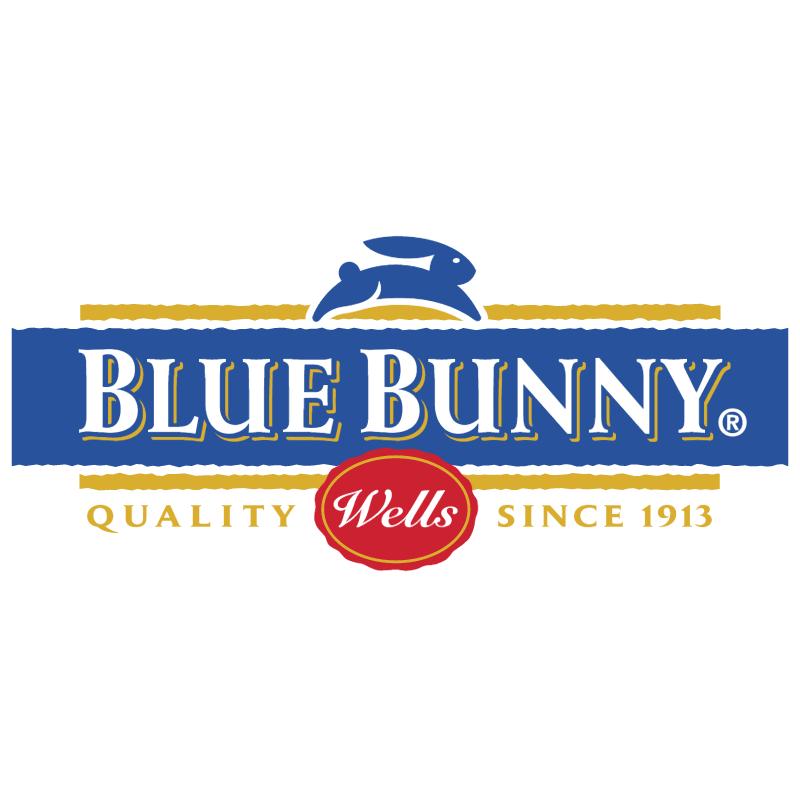 Blue Bunny 30975 vector