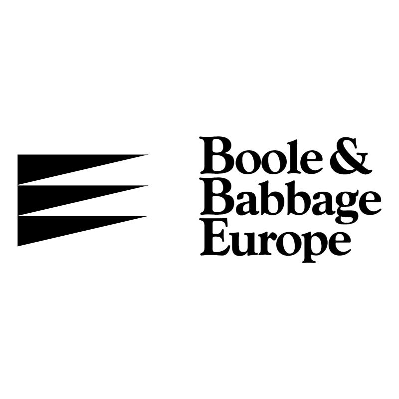 Boole & Babbage Europe vector