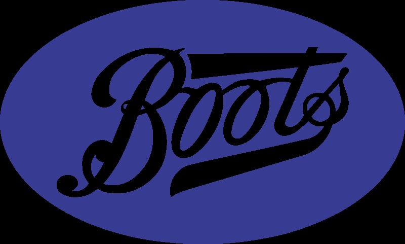 Boots logo vector