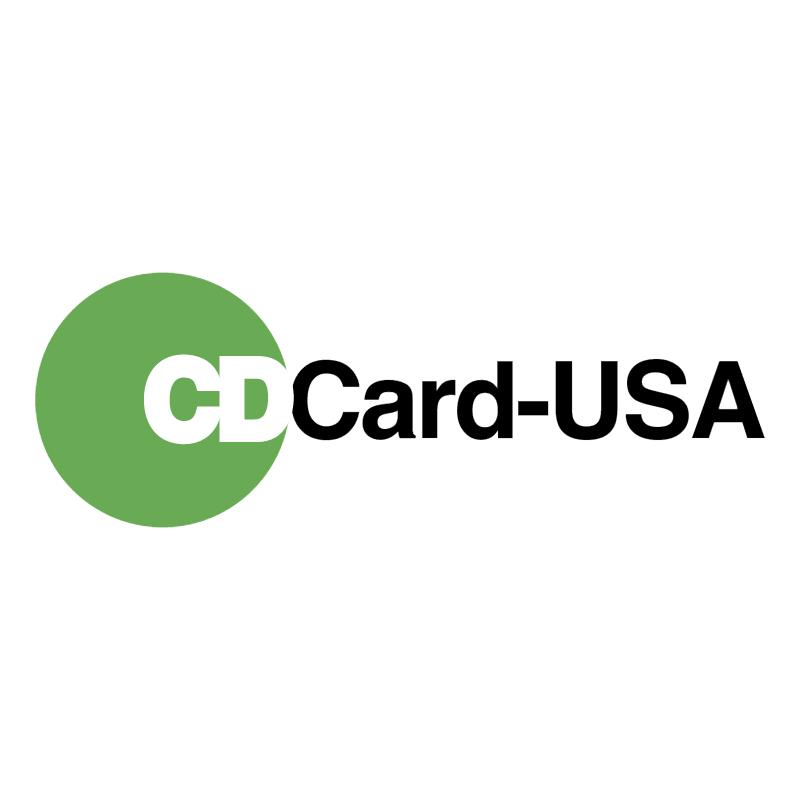 CDCard USA vector