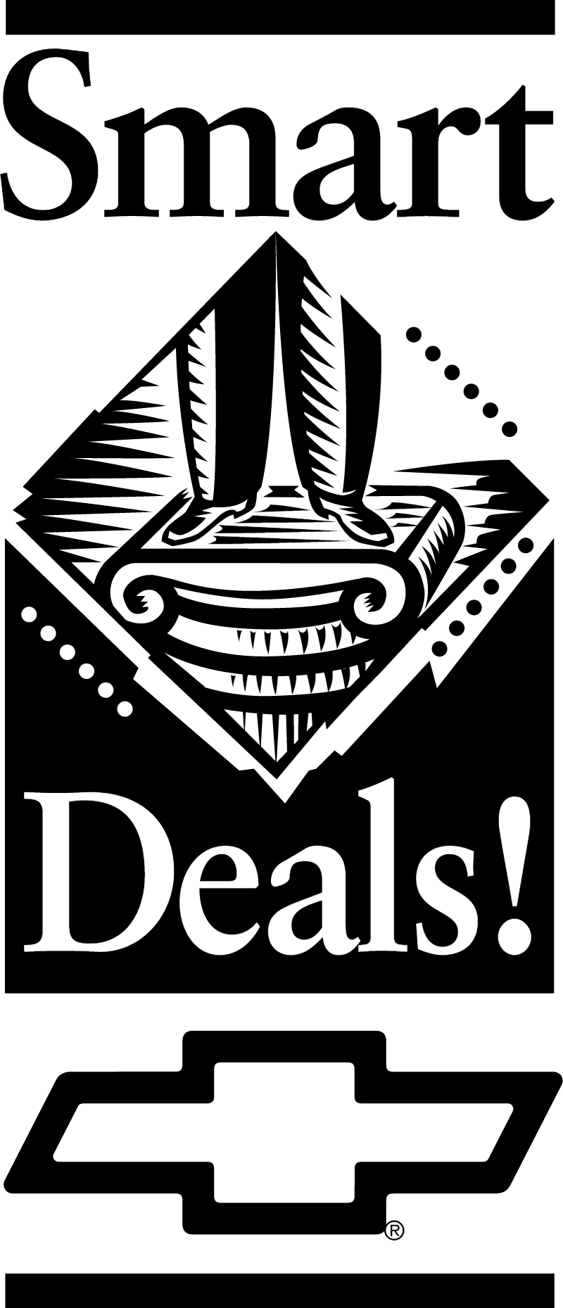 Chevrolet Smart Deals logo vector