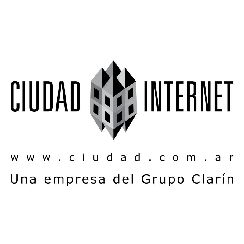 Ciudad Internet vector