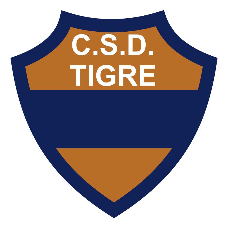 Club Social y Deportivo Tigre de Gualeguaychu vector