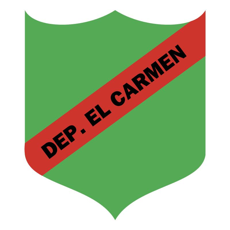 Deportivo El Carmen de Carmelita vector