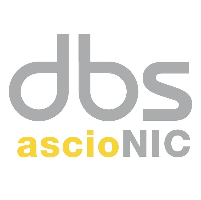 Digital Brand Services AscioNIC vector logo