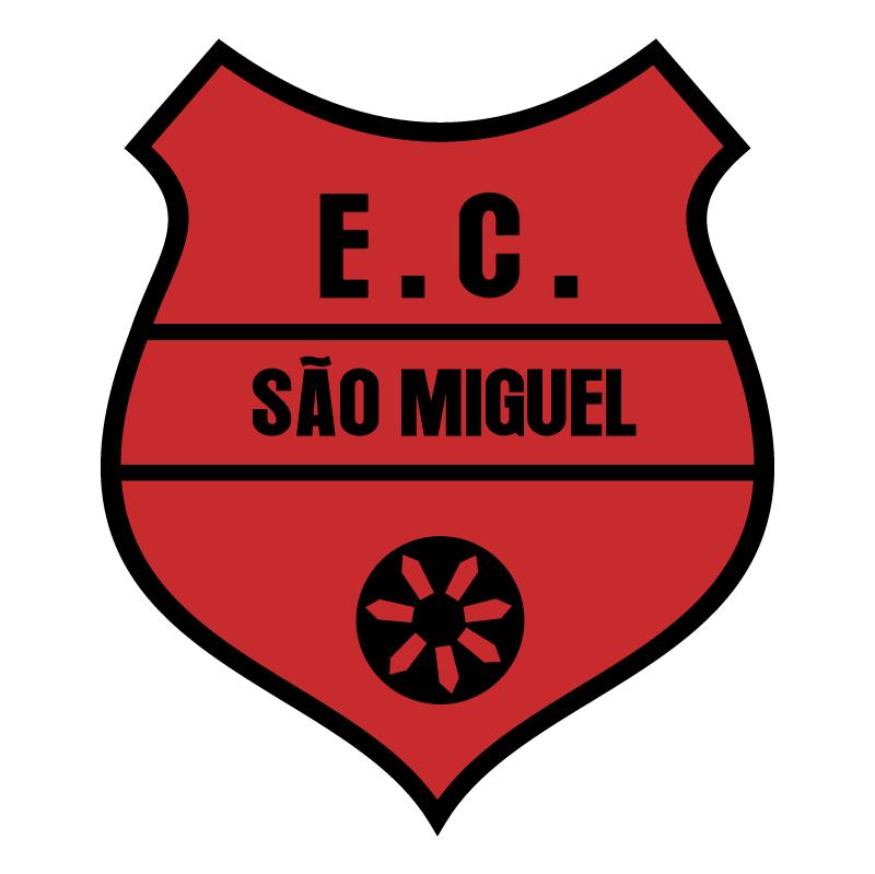 Esporte Clube Sao Miguel de Flores da Cunha RS vector