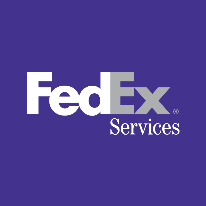 FedEx Services vector logo