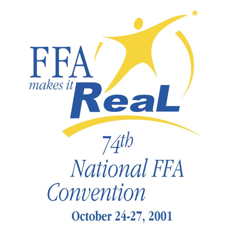 FFA Makes It Real vector