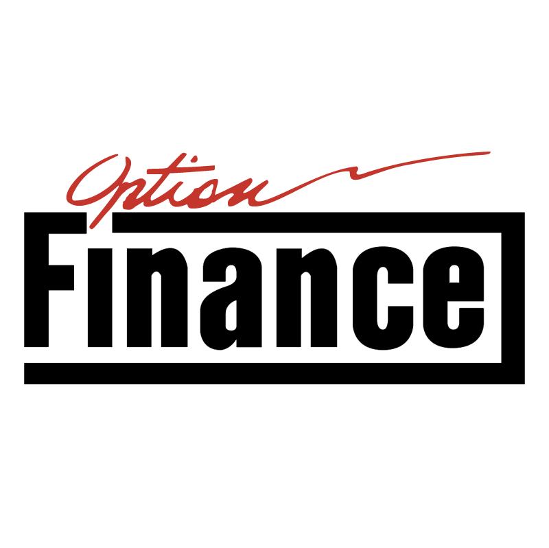 Finance Option vector