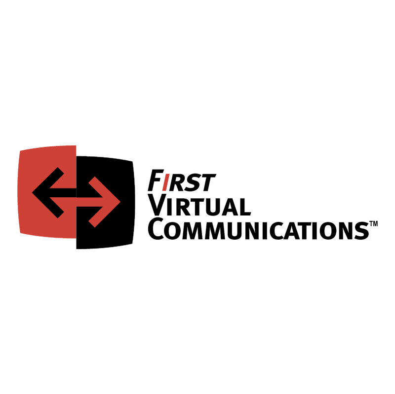 First Virtual Communications vector logo