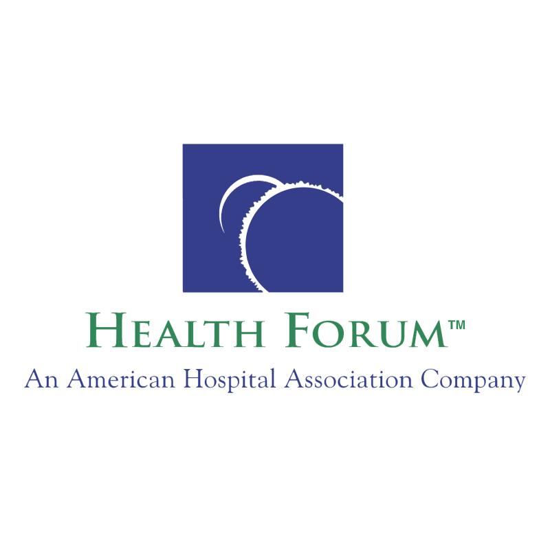 Health Forum vector logo
