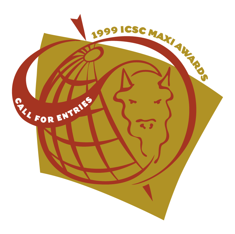 ICSC MAXI Awards vector