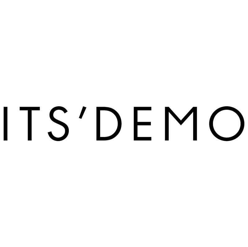 Its' Demo vector logo