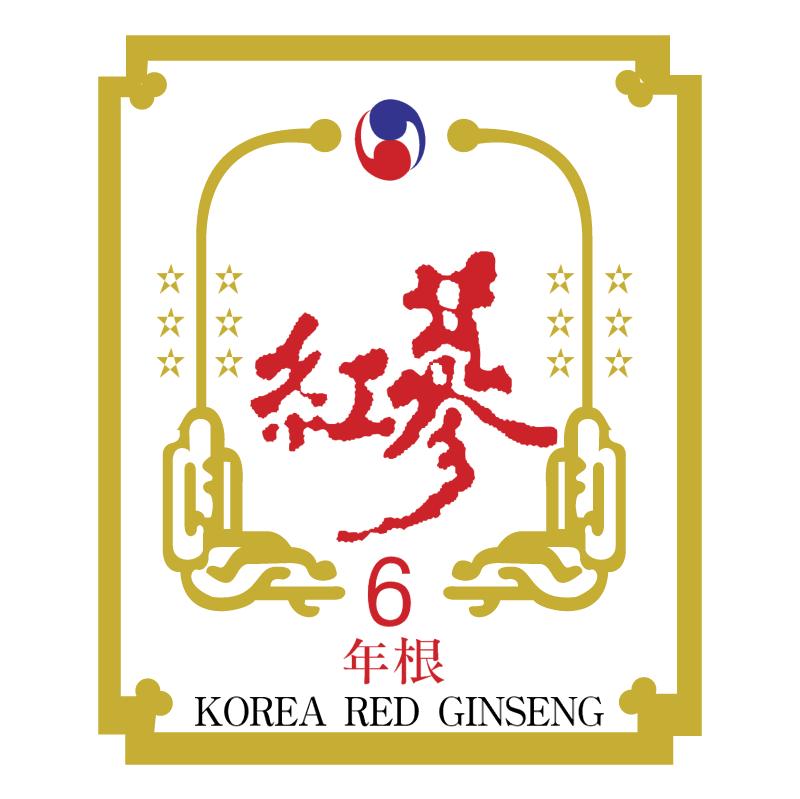 Korea Red Ginseng vector