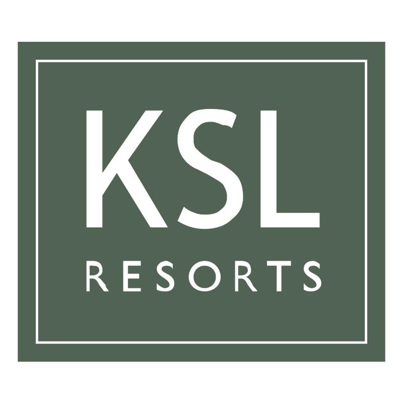KSL Resorts vector logo