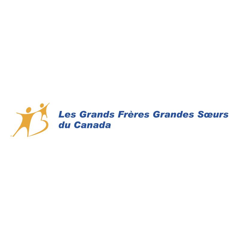 Les Grands Freres et Grandes Soeurs du Canada vector logo