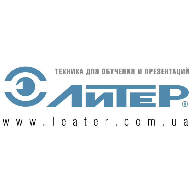 Liter vector logo