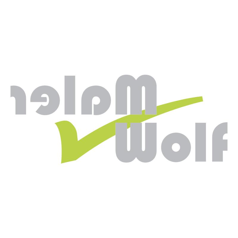 Maler WOLF vector