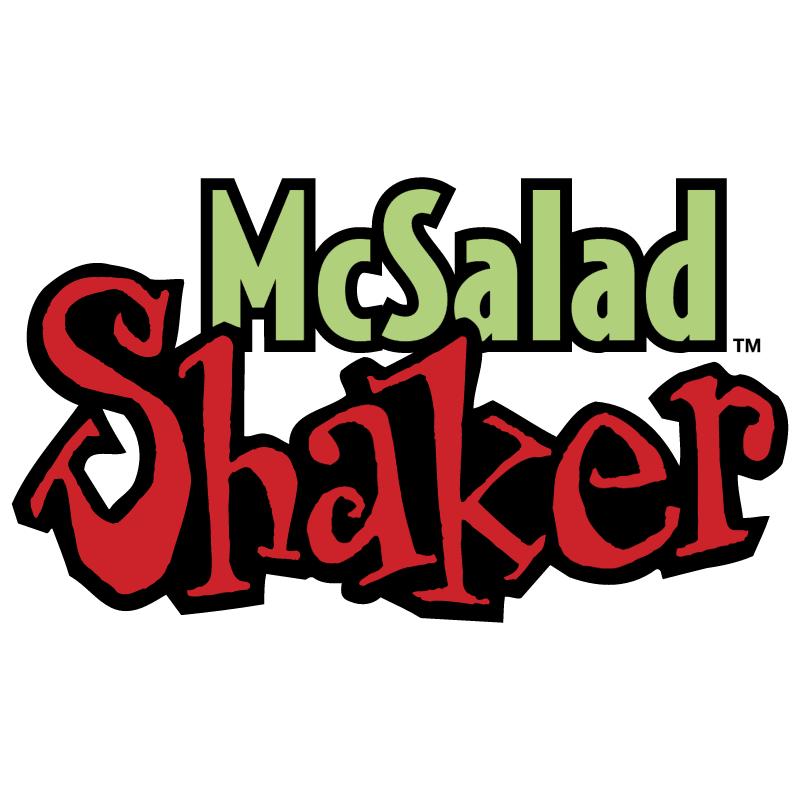 McSalad Shaker vector