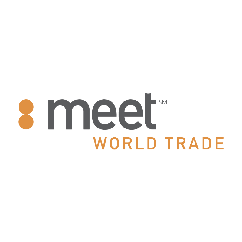 Meet World Trade vector