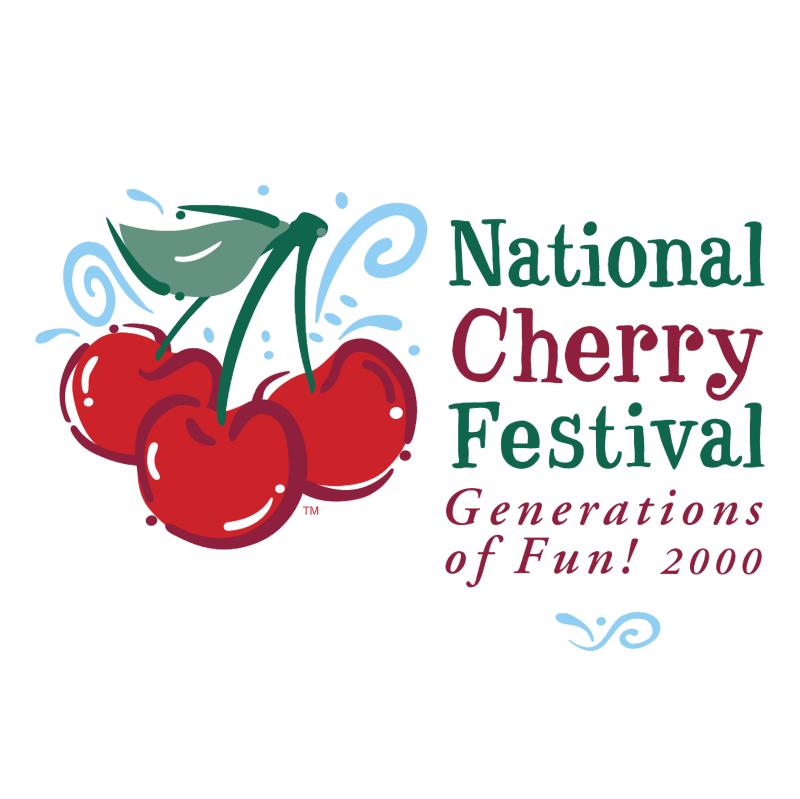 National Cherry Festival vector