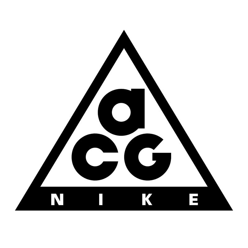 Nike ACG vector