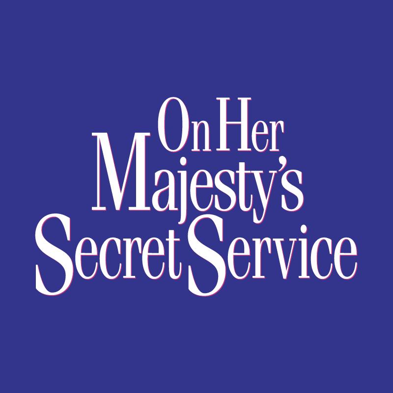On Her Majesty's Secret Service vector logo