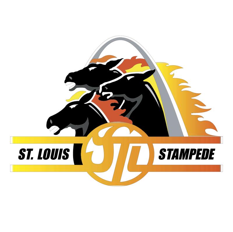 St Louis Stampede vector