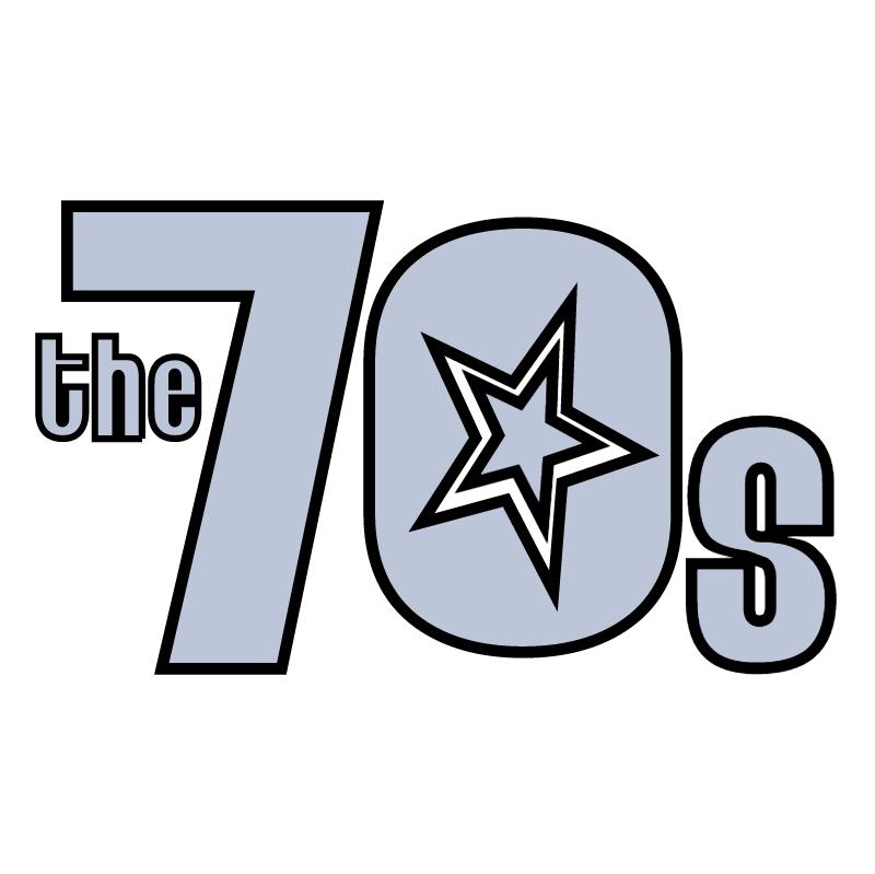 The 70's vector logo