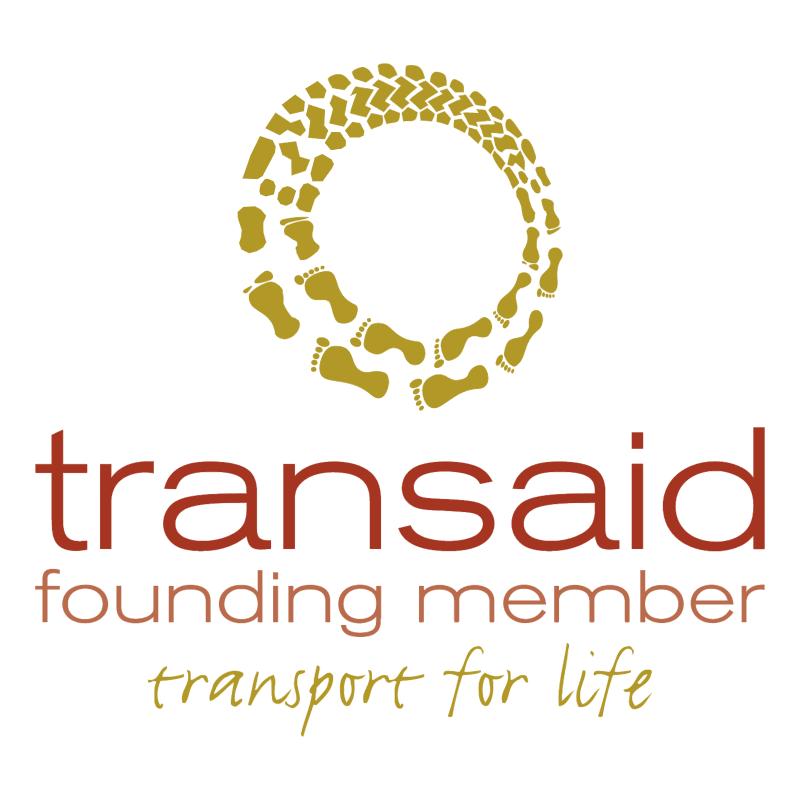 Transaid Founding Member vector logo