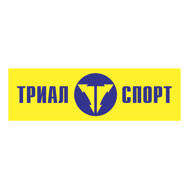 Trial Sport vector
