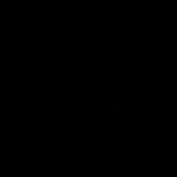 Ring bell clock vector