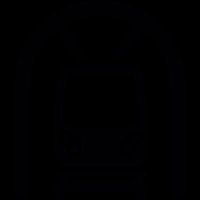Train in a Tunnel vector logo