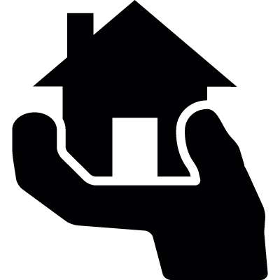 Buy a house vector logo