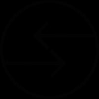 Switch arrow button vector
