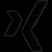 XING Draw Logo vector