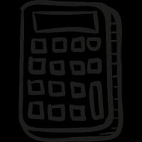 Draw Calculator vector