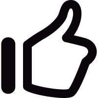 Thumb-up vector