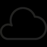Big Cloud vector