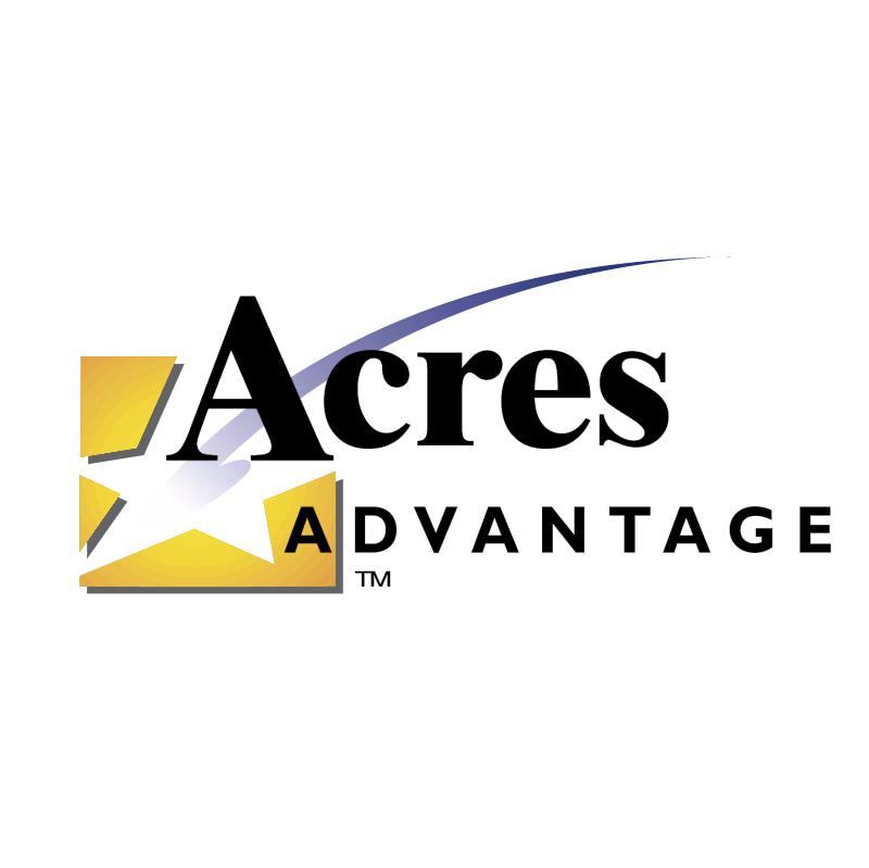 Acres Advantage vector
