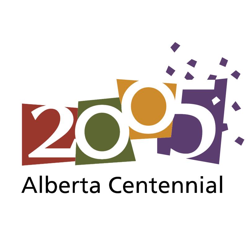 Alberta Centennial 2005 vector