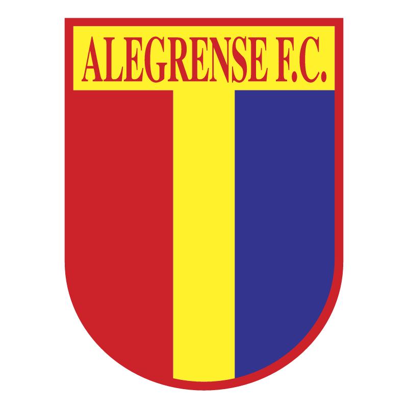 Alegrense Futebol Clube de Alegre vector