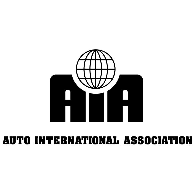 Auto International Association vector