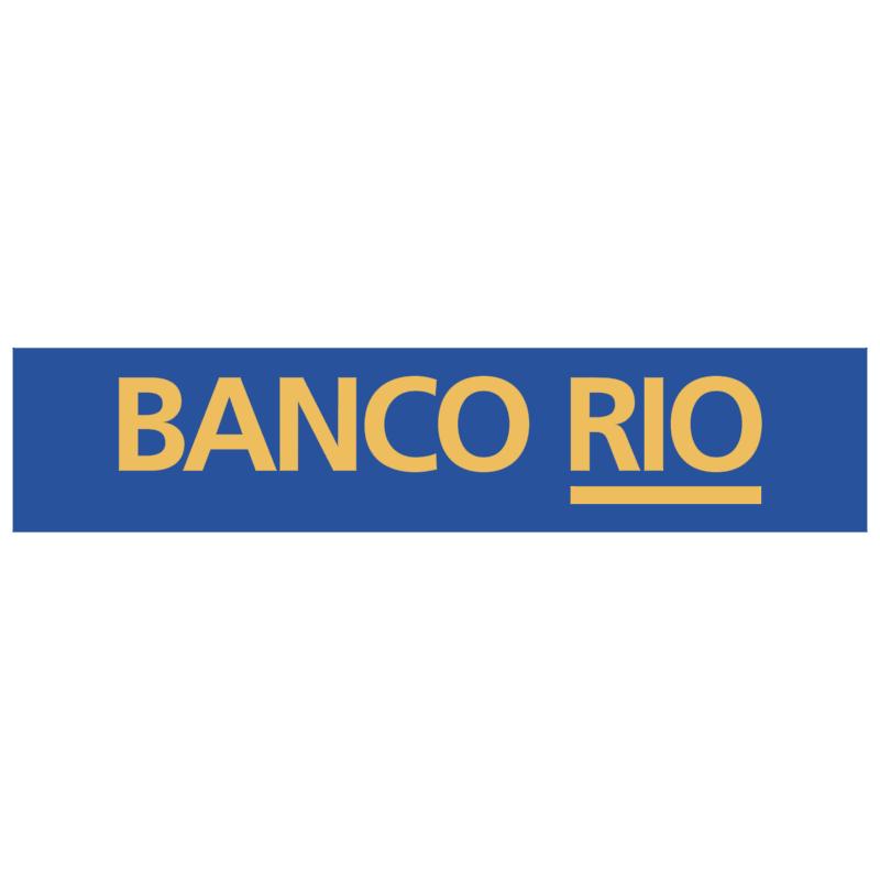 Banco Rio 23895 vector